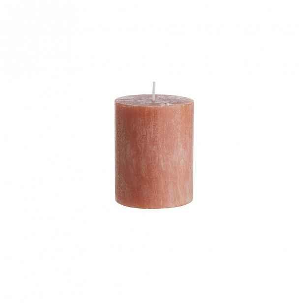 Butlers RUSTIC Svíčky set 6 ks 9 cm - oranžová