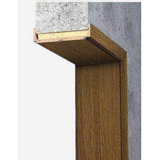 Obložková zárubeň Naturel 80 cm pro tloušťku stěny 18-20 cm dub pravá O4DP80P