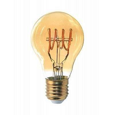 Žárovka LED E27 4W, FILAMENT GOLDIE