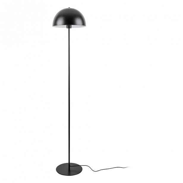 Černá stojací lampa Leitmotiv Bennet,výška150cm
