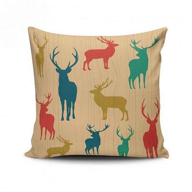 Polštář Deers, 45x45 cm