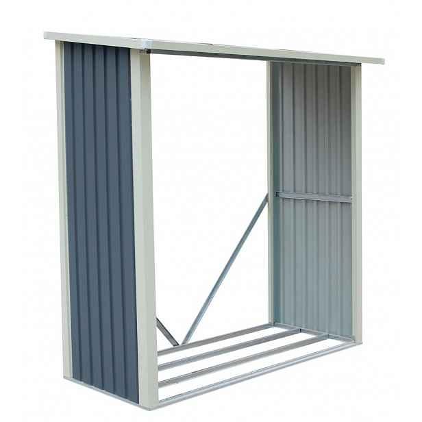 Dřevník WA-A kovový šedý