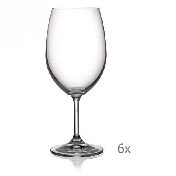 Sada 6 sklenic na víno Crystalex Lara,540ml