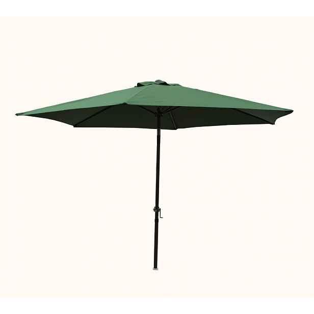 Slunečník NAKLÁPĚCÍ 300cm - zelená ROJAPLAST