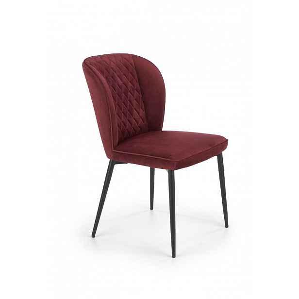 Jídelní židle K399 Halmar Bordó