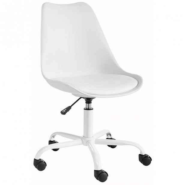 Bílá nastavitelná židle Støraa Dan - 58 x 81 x 49 cm