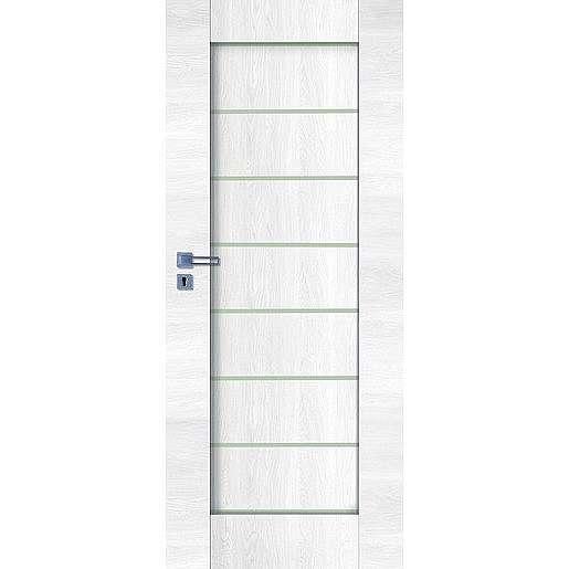 Interiérové dveře Naturel Perma levé 70 cm borovice bílá PERMABB70L