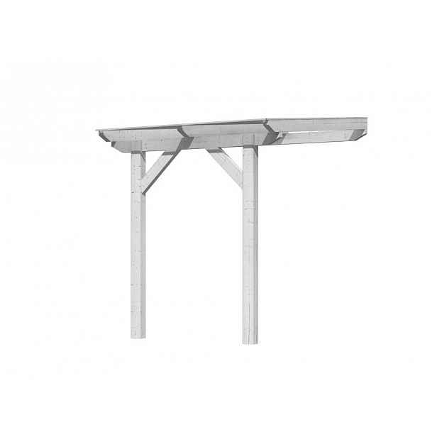 Dřevěná pergola CLASSIC 2A 200x300 cm Bílá