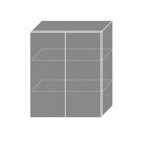PLATINUM, skříňka horní W3 60, korpus: grey, barva: vanilla