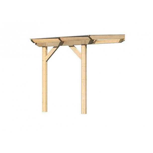 Dřevěná pergola CLASSIC 1A 200x250 cm Přírodní