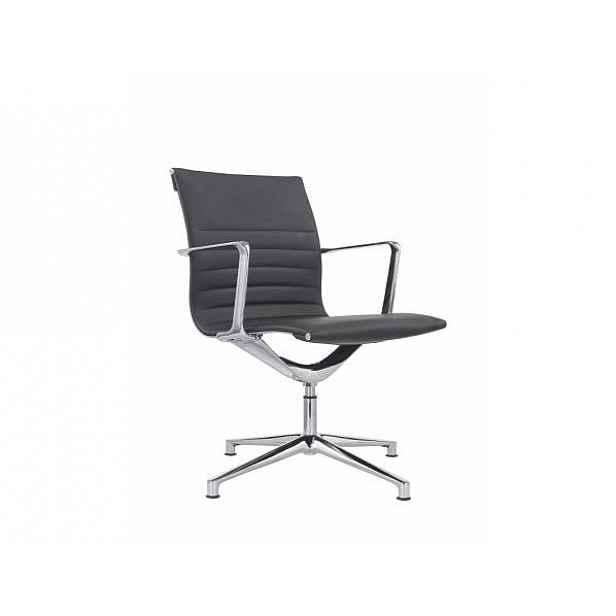 Konferenční židle šedá - 71 cm