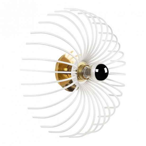 Bílé nástěnné svítidlo Opviq lights Aspendos, ø 36 cm