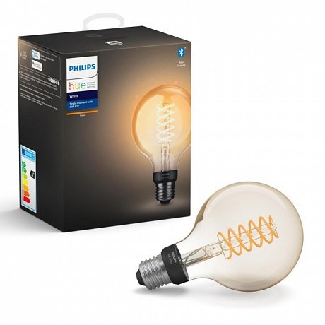 Žárovka LED Philips Hue Bluetooth Filament, E27, 7 W, 550 lm