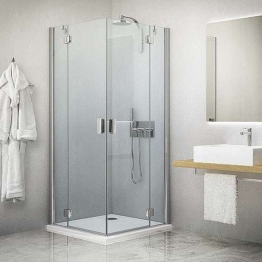 Sprchové dveře 100x201 cm Roth Hitech Line chrom lesklý 284-1000000-06-02