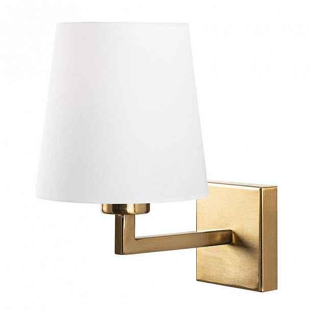 Nástěnné svítidlo v bílo-zlaté barvě Opviq lights Profil