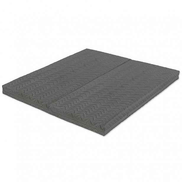 Dvojitá rozkládací matrace Duo Flexible Grey 80x200 cm - 160x200 cm