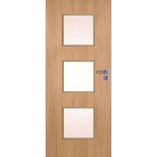 Interiérové dveře Naturel Kano levé 60 cm jilm KANO30J60L