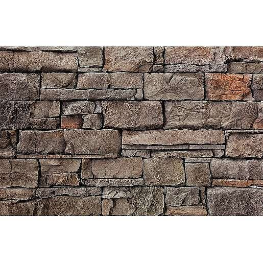 Obklad Vaspo Kámen srubový hnědý 10,8x15,5, 10,8x23,5, 10,8x39 cm V53205