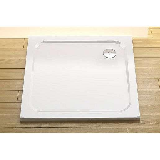 Sprchová vanička čtvercová Ravak Chrome 90x90 cm litý mramor XA047701010