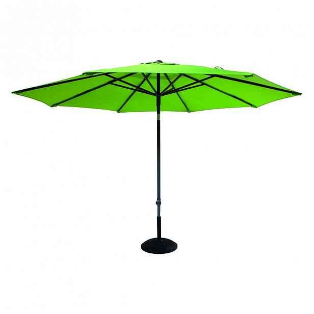 Zelený slunečník Hartman, ø 300 cm