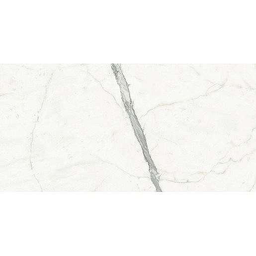 Dlažba Graniti Fiandre Marmi Maximum Calacatta Statuario 75x150 cm leštěná MML266715