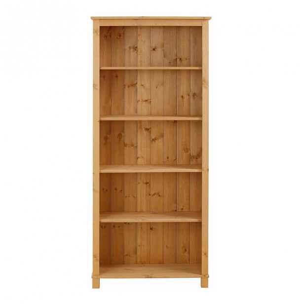 Knihovna z masivního borovicového dřeva Støraa Pinto