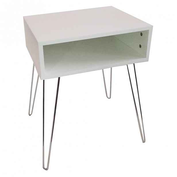 Noční stolek LAMAJ Tempo Kondela Bílá