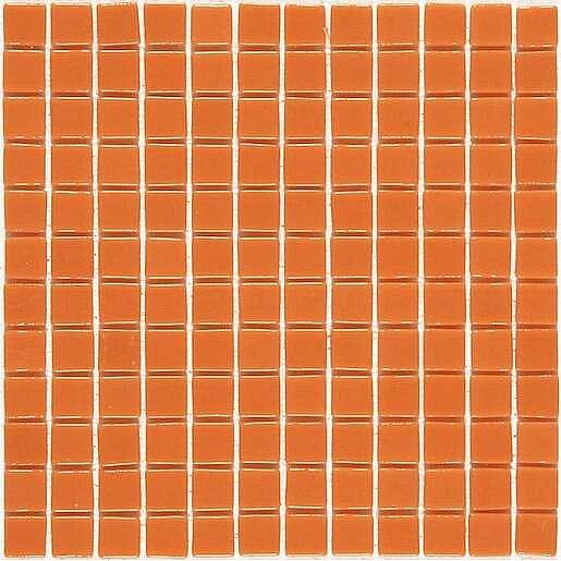 Skleněná mozaika Monocolores naranja 30x30 cm lesk MC702