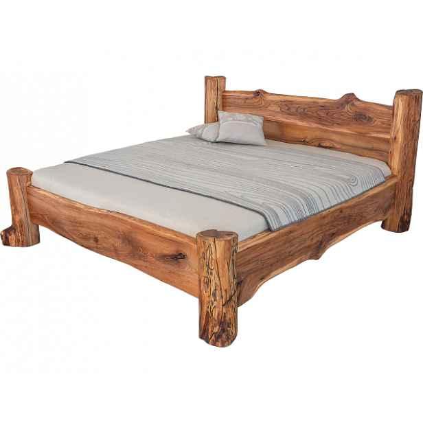 Designová masivní postel BELINA 160x200 cm