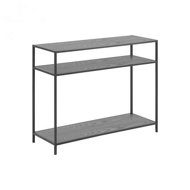 Černý konzolový stolek Actona Seaford