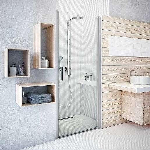 Sprchové dveře 120x201,2 cm Roth Tower Line chrom lesklý 728-1200000-00-02
