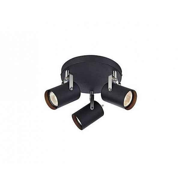 Černé stropní svítidlo Markslöjd Key