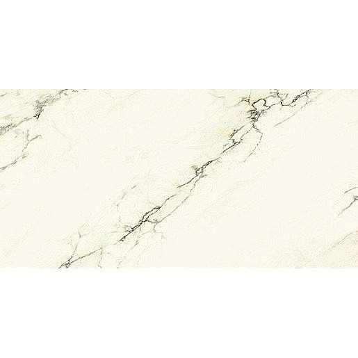 Dlažba Graniti Fiandre Marmi Maximum Imperial White 150x300 cm leštěná MML1861530