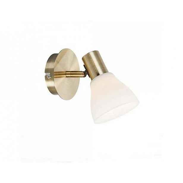 Nástěnné svítidlo v bílo-zlaté barvě Markslöjd Vero