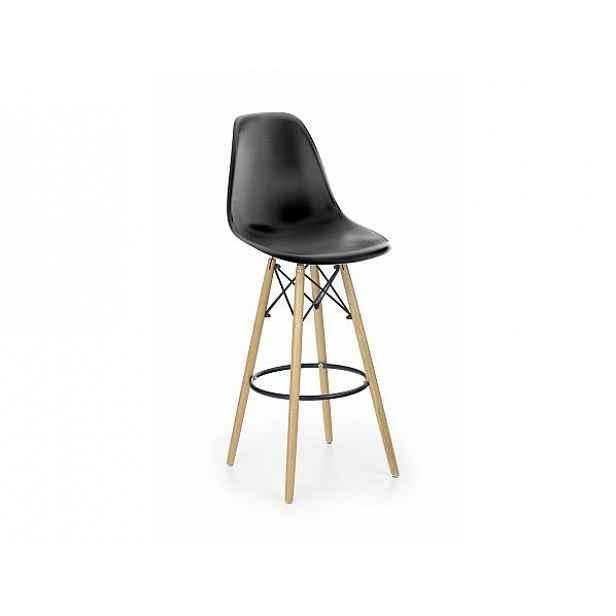 Barová židle H-51 černá
