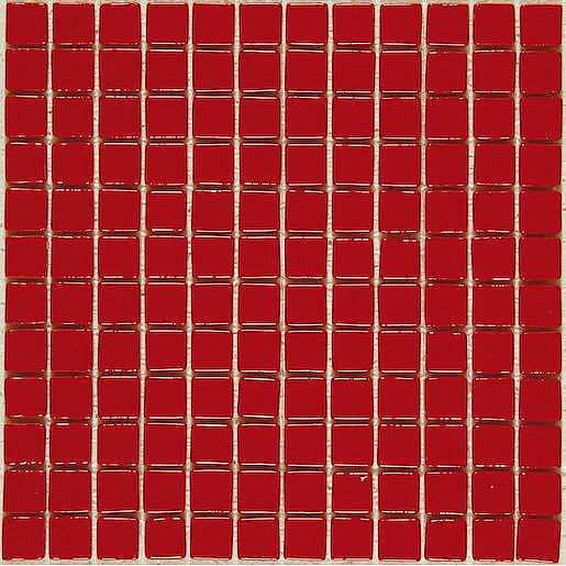 Skleněná mozaika Monocolores rojo 30x30 cm lesk MC902