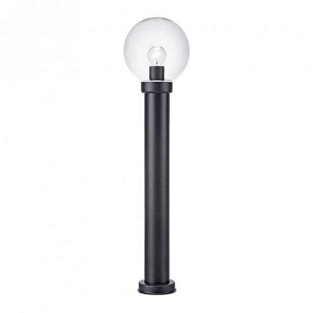 Černé tyčové svítidlo Markslöjd Caris, ø 20 cm
