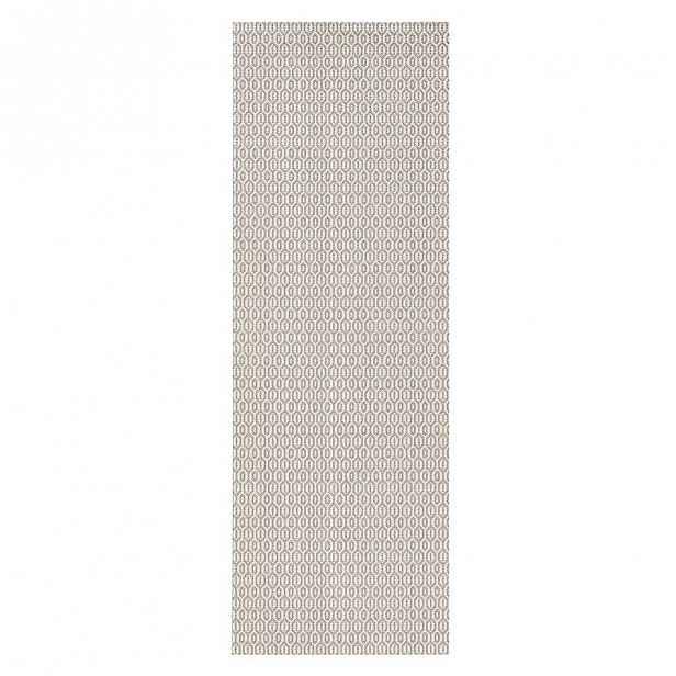 Béžový venkovní koberec Bougari Coin, 80x200cm