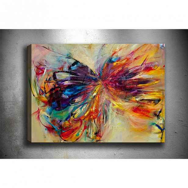 Obraz Tablo Center Butterfly, 60 x 40 cm