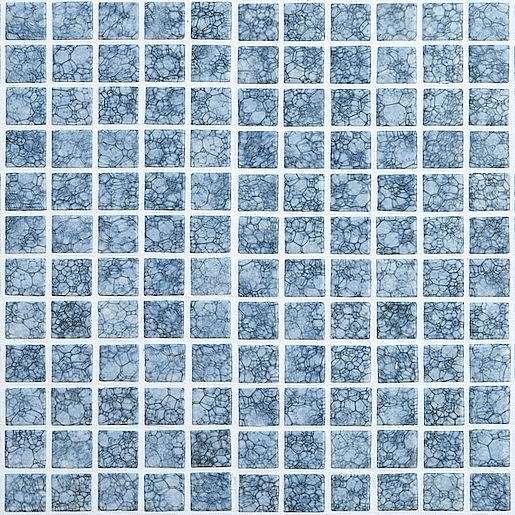 Skleněná mozaika Burbujas 30x30 cm lesk BURBUJASANTISLIP