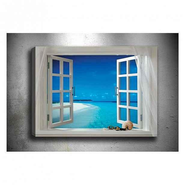 Obraz Tablo Center Open Window, 70x50cm
