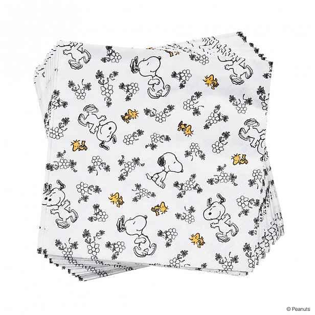 Butlers PEANUTS Papírové ubrousky milující Snoopy 20 ks 20 ks