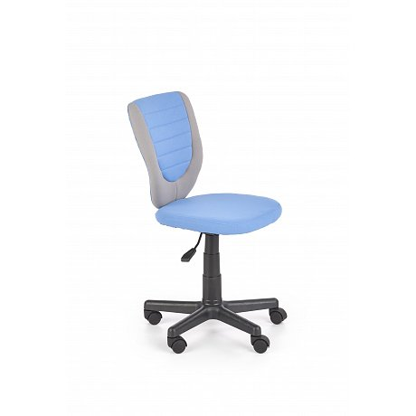 Dětská kancelářská židle TOBY, šedo-modrá