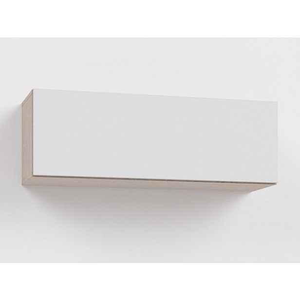Závěsná skříňka Rea Rebecca 8DL-B bílá, sklopná