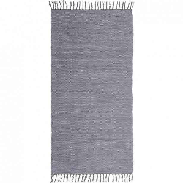 Ručně tkaný HADROVÝ KOBEREC, 80/150 cm, šedá Boxxx