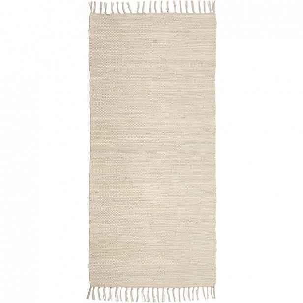 Ručně tkaný HADROVÝ KOBEREC, 80/150 cm, béžová Boxxx