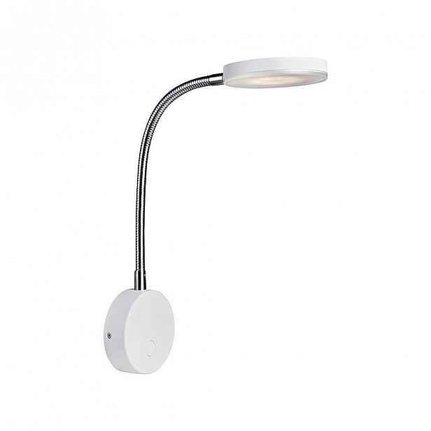 Bílé nástěnné LED svítidlo Markslöjd Flex