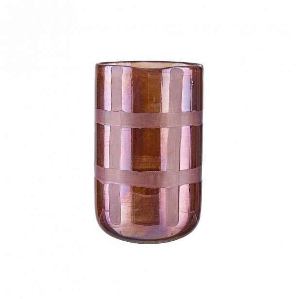 Butlers NORA Svícen 15 cm - fialová