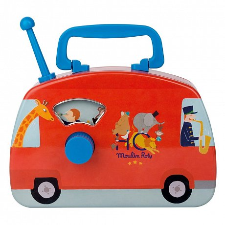 Dětský hudební autobus Moulin Roty