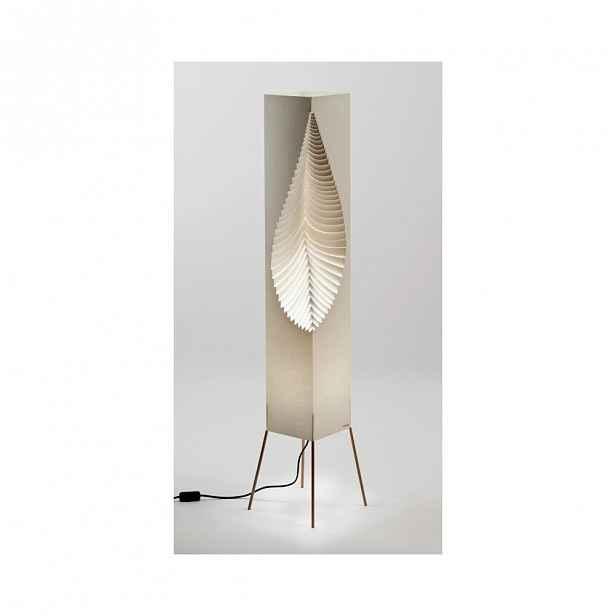 Světelný objekt MooDoo Design Leaf Organic, výška122 cm